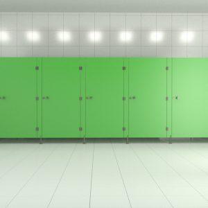 Kabiny sanitarne HPL LUX