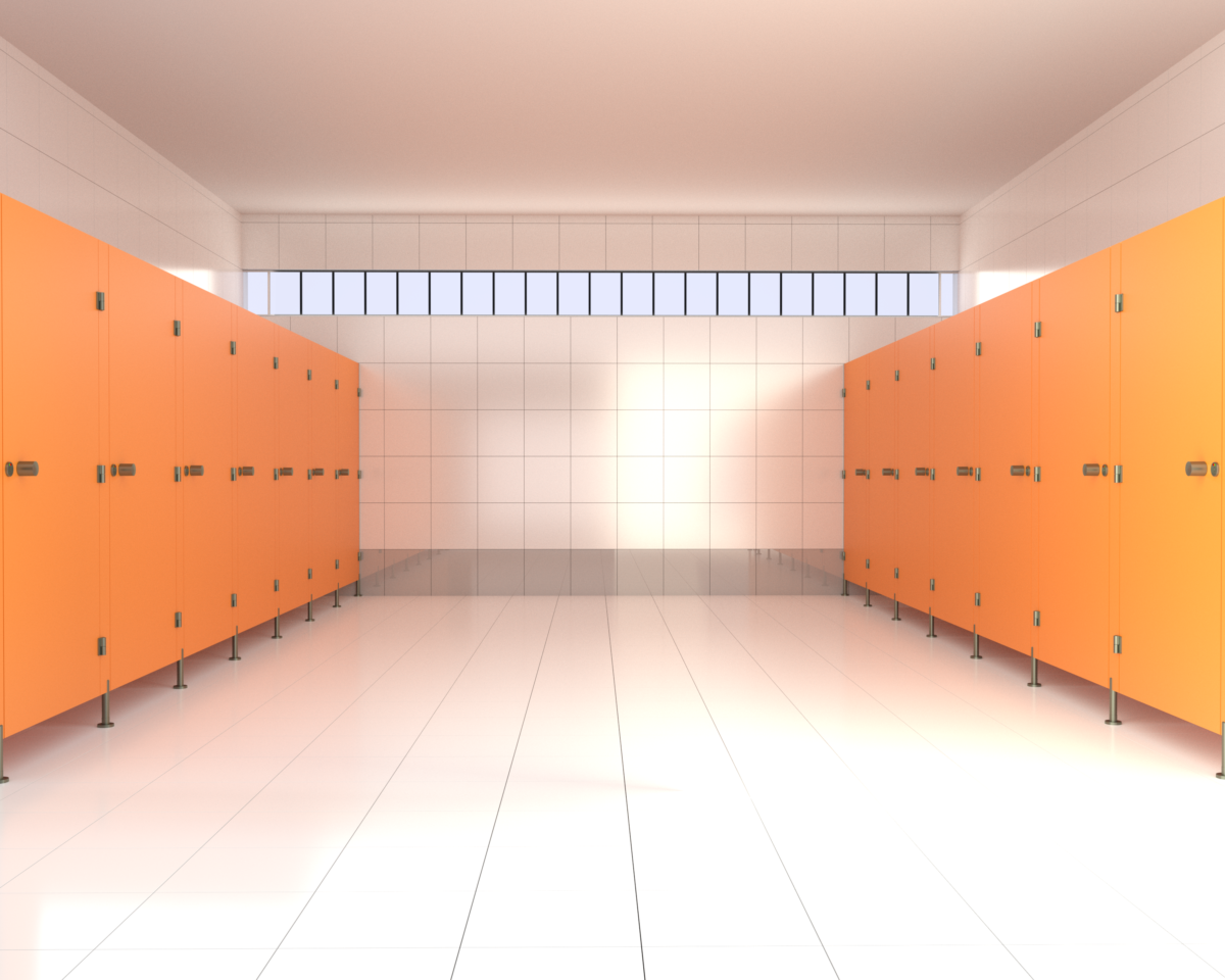 Kabiny sanitarne HPL Basic P
