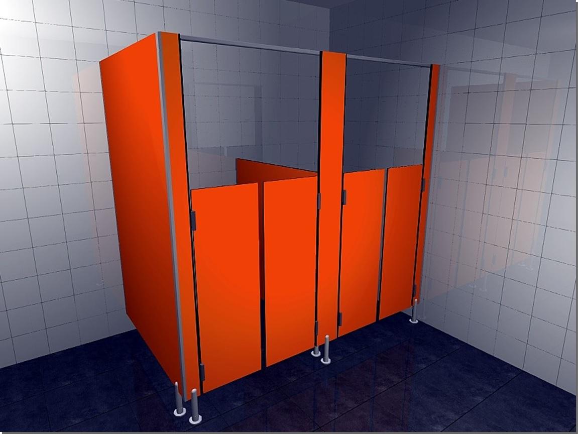 Kabiny sanitarne HPL12LUX P – KIDS – W