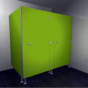 Kabiny sanitarne hpl