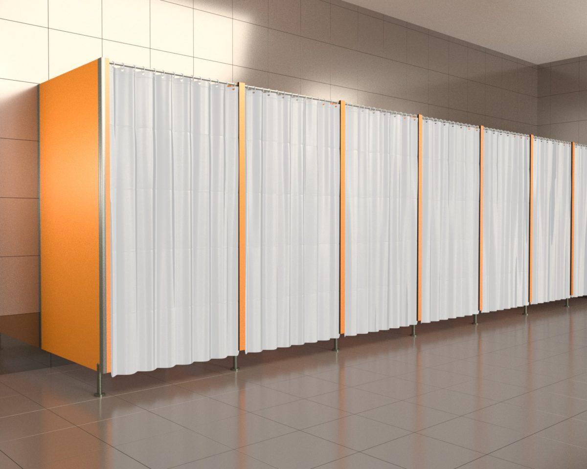 Kabina prysznic HPL